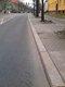 August-Bebel-Straße, Frankfurt (Oder)- Bordsteinschneiden 45°